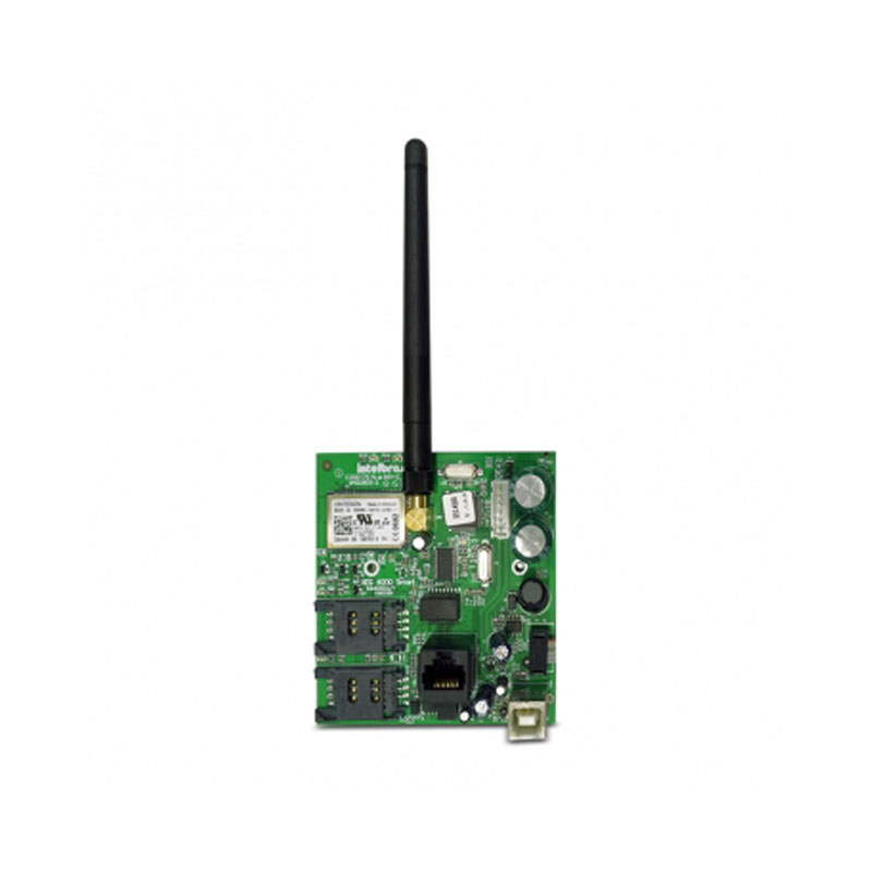 Kit Central de Alarme Monitorada AMT 4010 SMART c/ até 64 Zonas + Placa Comunicador Ethernet/GPRS XEG 4000 Smart - Intelbras - Tudo Forte