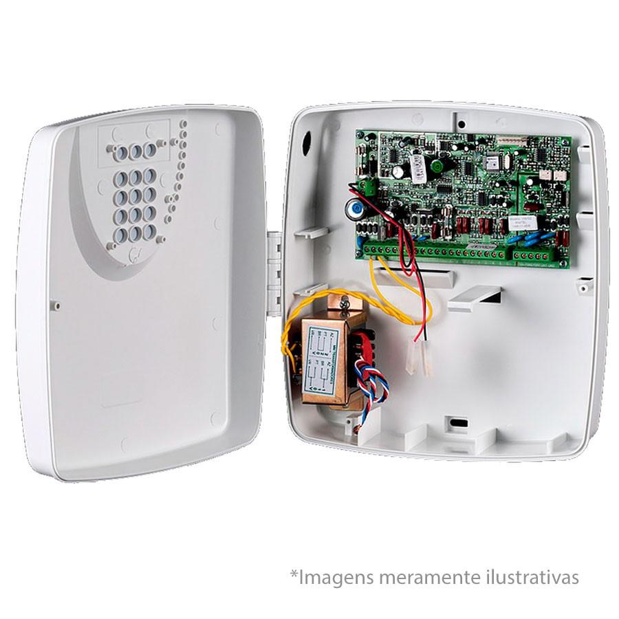 Central de Alarme VW10Z ViaWeb INNOVAnet, com Caixa Plastica e Trafo (fonte de alimentação)