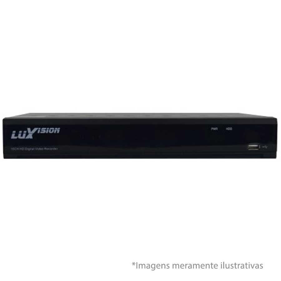 Kit 03 Câmeras de Segurança Bullet HD 720p Focusbras + DVR Luxvision All HD + HD para Gravação 1TB + Acessórios
