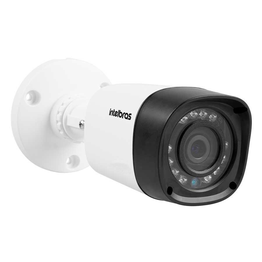 Kit 10 Câmeras de Segurança Full HD 1080p Intelbras VHD 1220B IR + DVR Intelbras Full HD 16 Ch + Acessórios