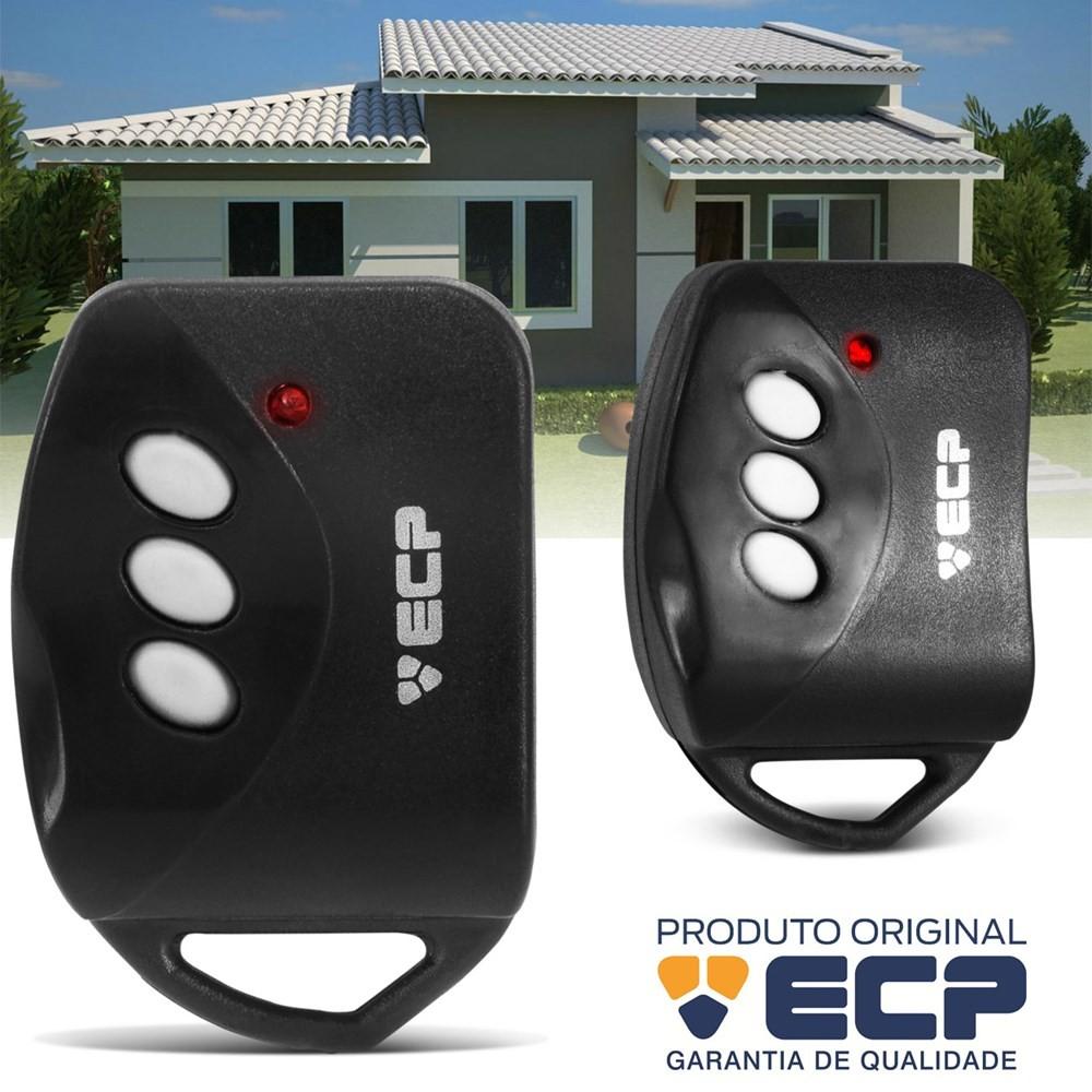 Kit com 10 Controles Remoto ECP Key para Alarme e Portão Eletrônico  - Tudo Forte