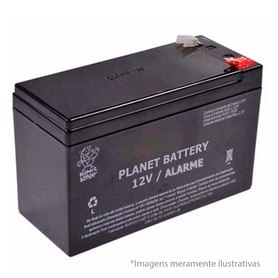 Kit Controlador de Acesso Fechadura Eletroimã FE 20150 Intelbras + Controle de Acesso Digiprox AS 502 Intelbras + Fonte de Alimentação FA 1220S Intelbras + Botoeira IPEC + Bateria Planet