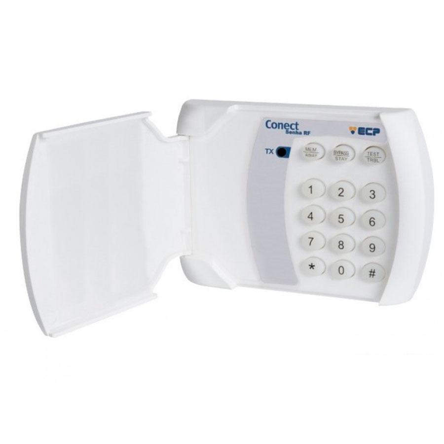 Kit de Alarme Residencial ECP 02 Sensores Sem Fio + Teclado Sem Fio e Controle Remoto