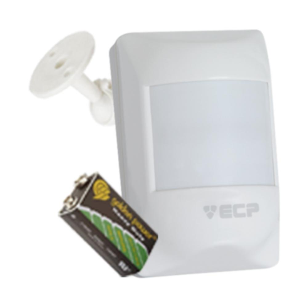 Kit Alarme Residencial, Comercial 02 Sensores sem fio ECP + 02 Controle Remoto disparo Telefone  - Tudo Forte