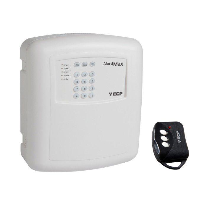 Kit de Alarme Residencial, Comercial com 02 Sensores sem fio ECP e Controle Remoto, Liga/Desliga por Celular Android   - Tudo Forte