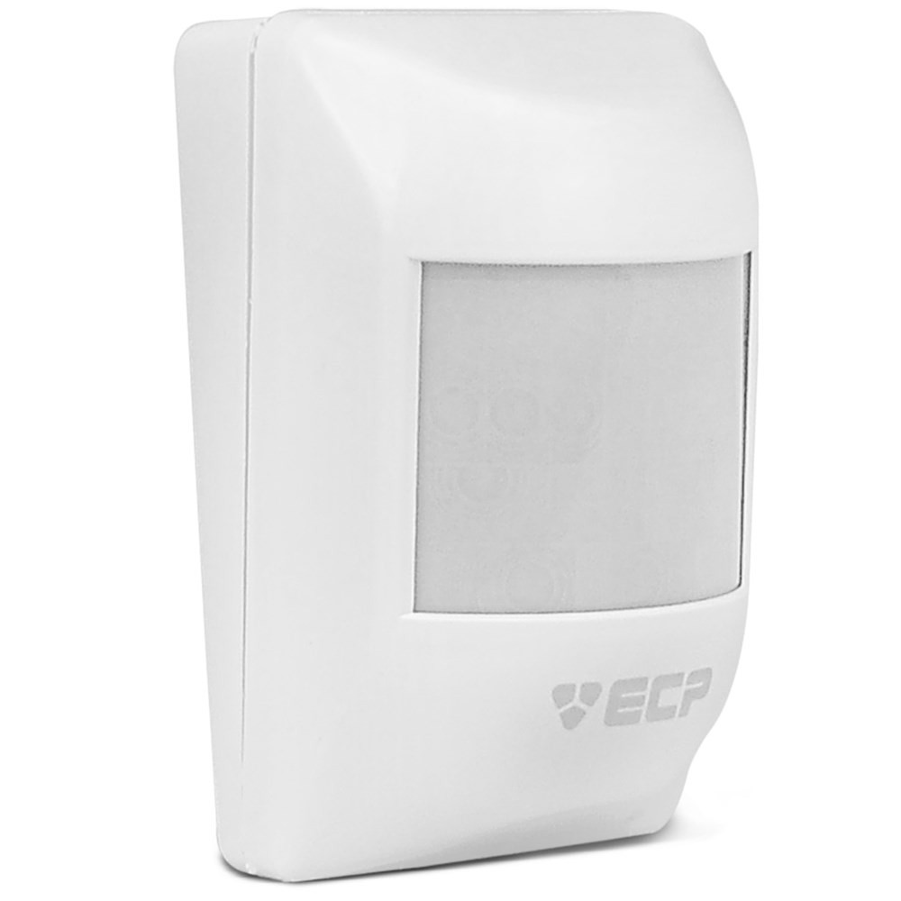 Kit Alarme Residencial Comercial Ecp Alardmax 4 Sem Fio com 03 Sensores