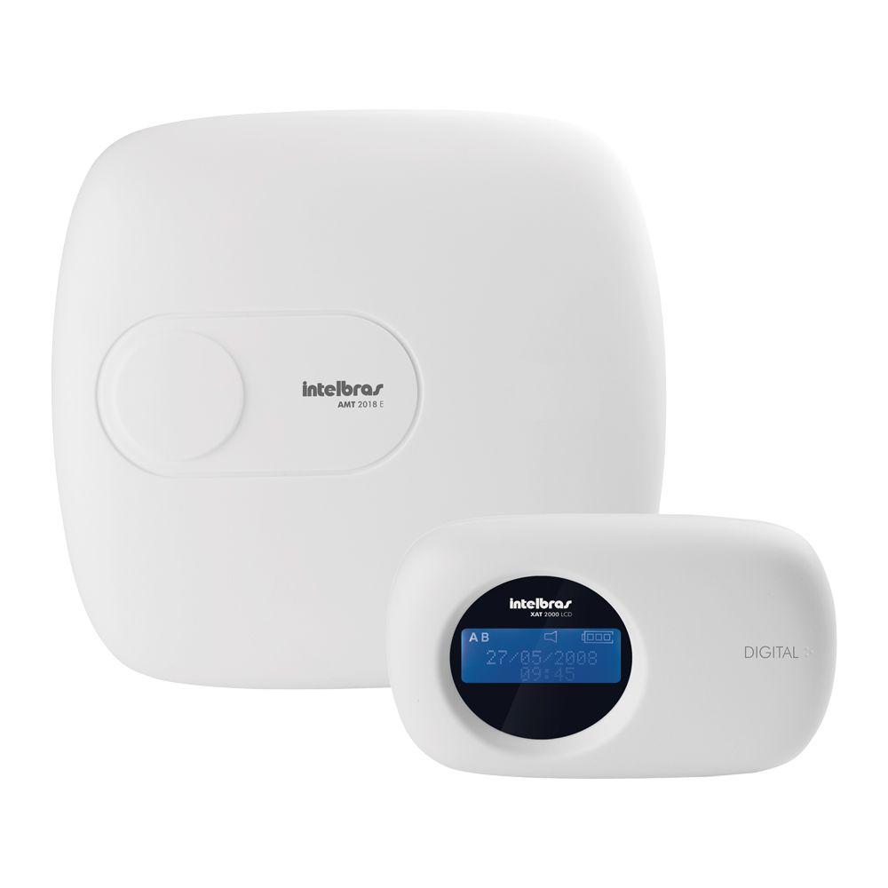 Kit de Alarme Intelbras AMT 2018 E com 04 Sensores com Monitoramento Por Aplicativo via Internet Sem Fio  - Tudo Forte