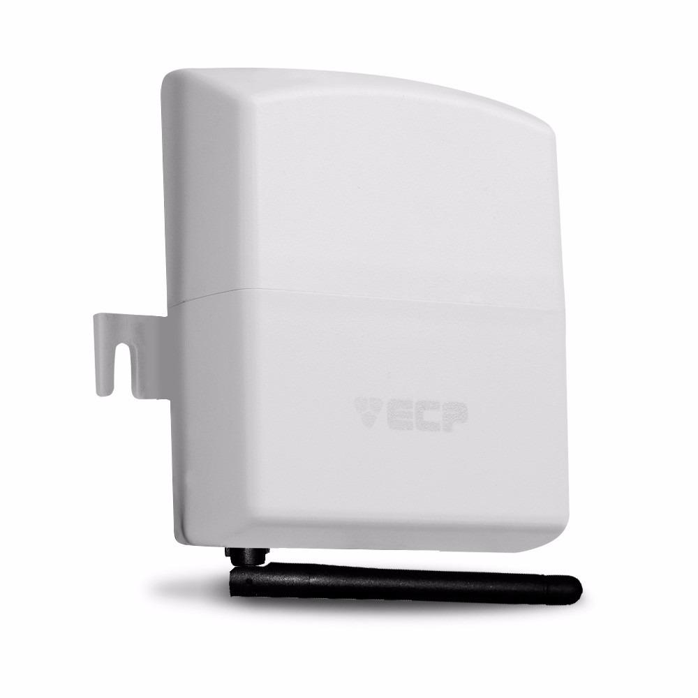 Kit de Alarme Intelbras ANM 3004 ST com 04 Sensores, Discadora por Telefone fixo e Discadora Celular GSM ECP Sem Fio