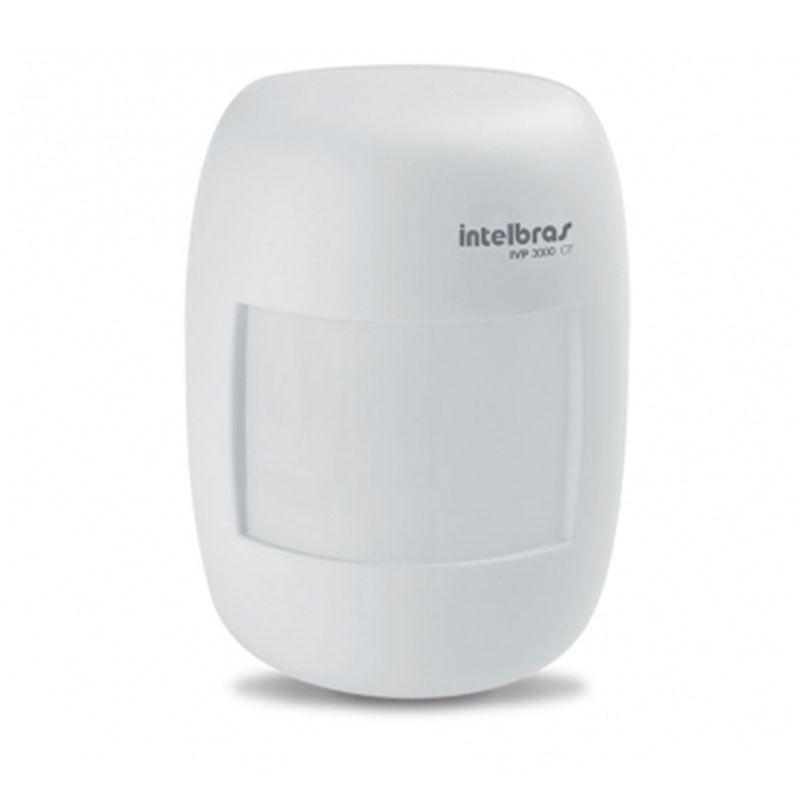 Kit de Alarme Intelbras AMT 2010 com 10 Sensores Com Fio