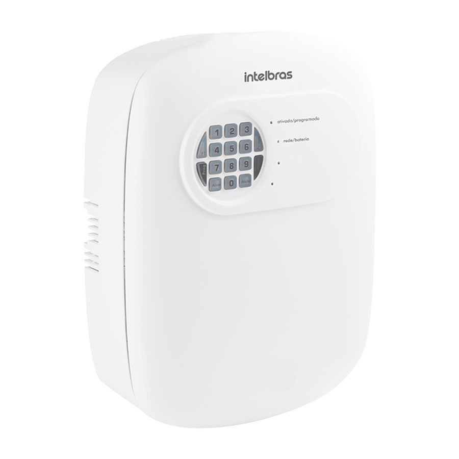 Kit de Alarme Intelbras ANM 3004 ST com 08 Sensores e Discadora por Telefone fixo Sem Fio  - Tudo Forte