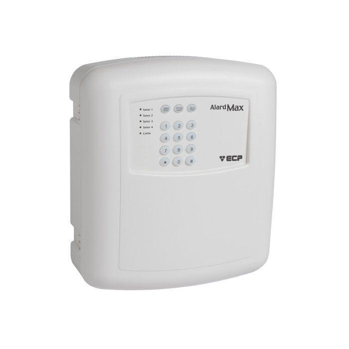 Kit de Alarme Residencial, Comercial com 13 Sensores sem fio ECP + 01 Controle Remoto, aviso de disparo por Telefone  - Tudo Forte