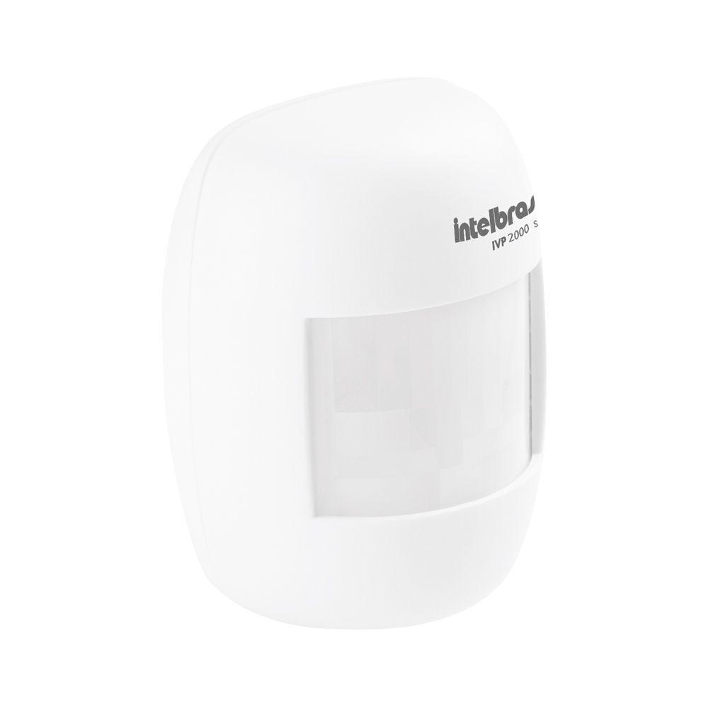 Kit de Alarme Intelbras AMT 1016 NET com 02 Sensores Monitorada via Internet com Aplicativo para Celular Sem Fio