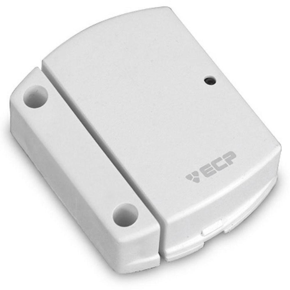 Kit de Alarme Residencial ECP 04 Sensores Sem Fio + Teclado Sem Fio e Controle Remoto, Com discadora via Celular