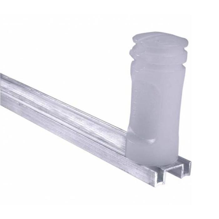 Kit de Cerca Elétrica para 25 metros Central Intelbras Liga/Desliga por Controle Remoto com Haste M + Acessórios