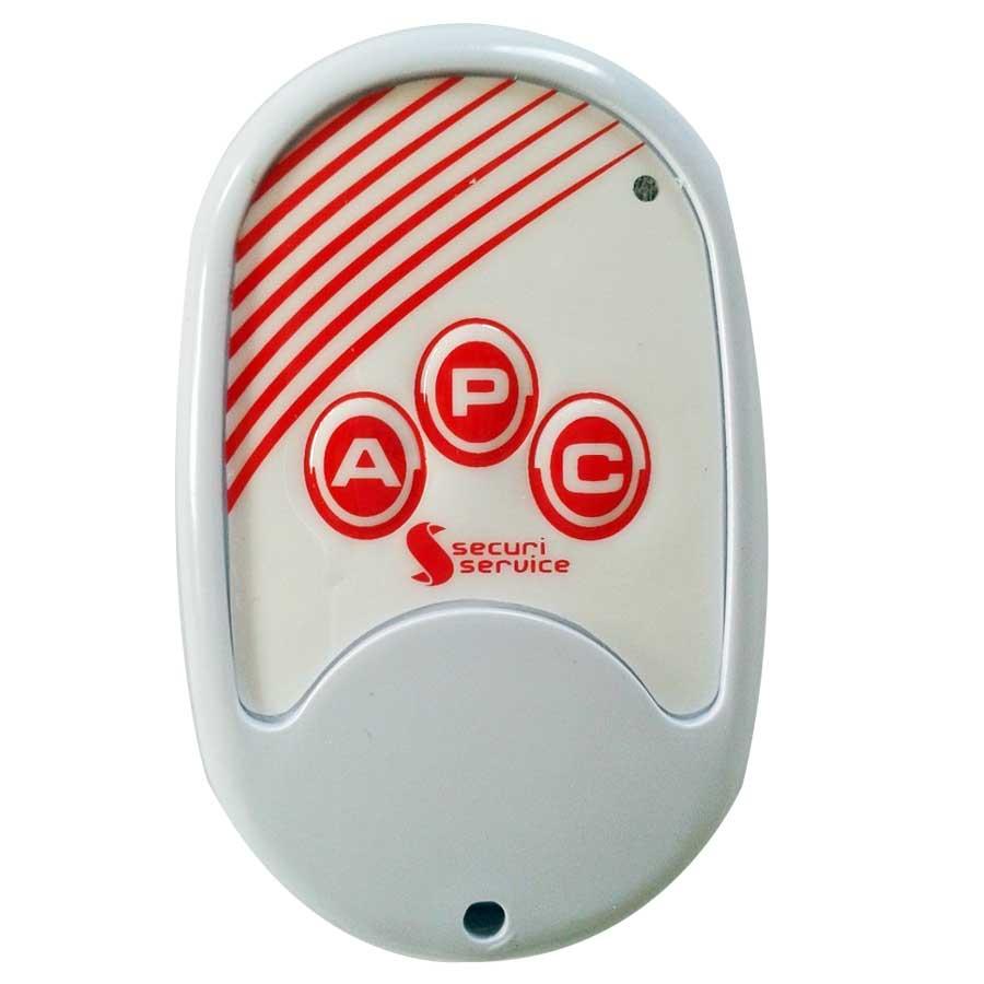Kit de Cerca Elétrica para 75 metros Central GCP Liga/Desliga por Controle Remoto com Haste M + Acessórios