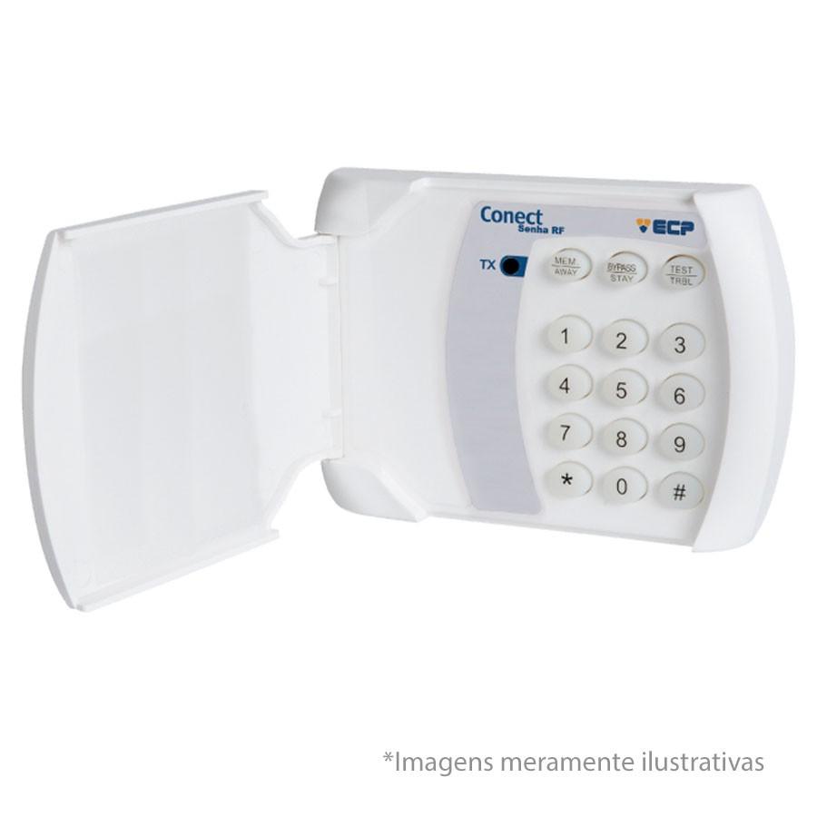 Kit Discadora Linha Telefônica ECP Conect DTMF + 05 Controles Remoto ECP Key  - Tudo Forte