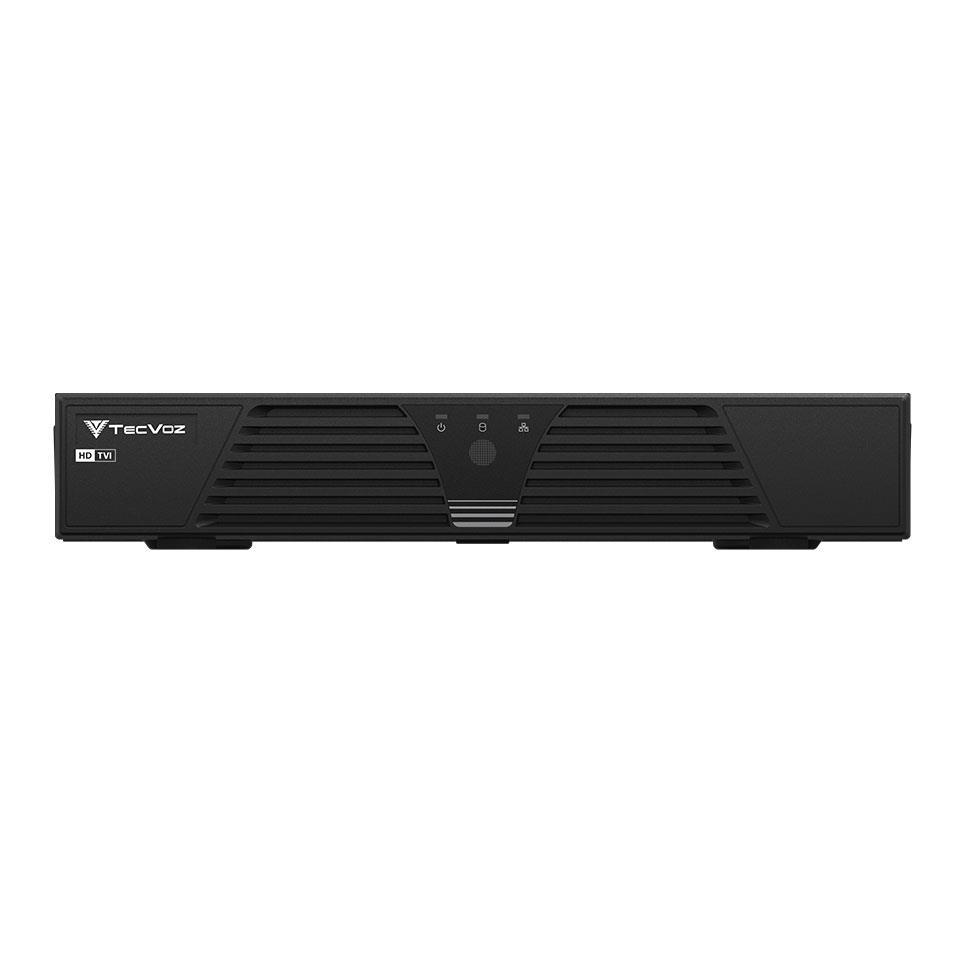 DVR Stand Alone Tríbrido HDTVI Tecvoz T1-LTVI08 08 Canais + HD 1TB WD Purple de CFTV
