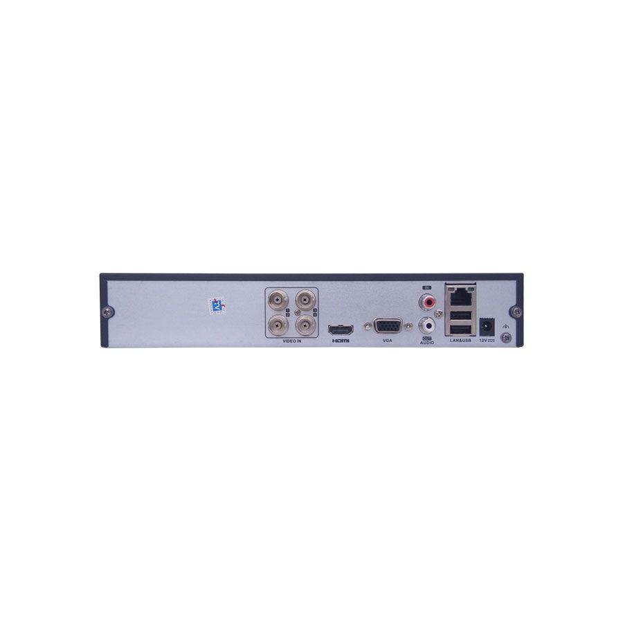 DVR Stand Alone Tríbrido Tecvoz HDTVI T1-LTVI04 04 CANAIS + HD 1 TB WD Purple de CFTV  - Tudo Forte