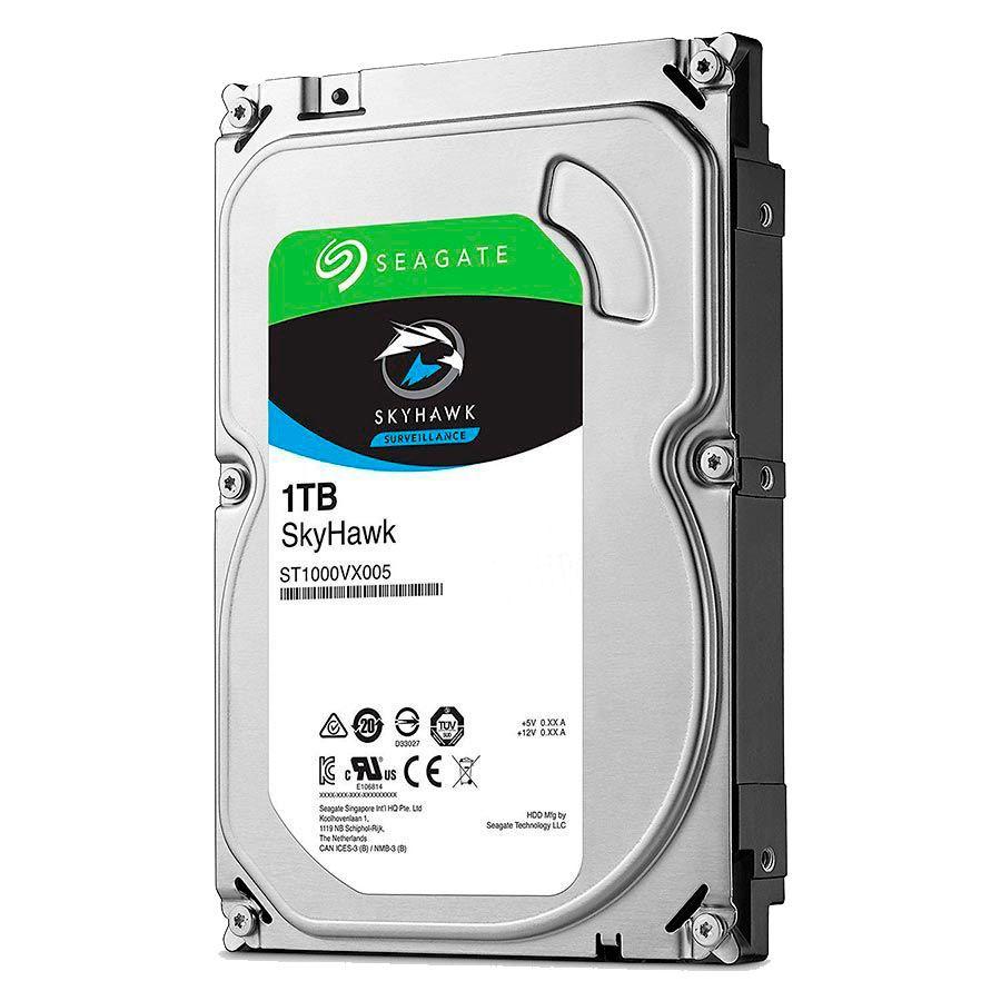 Kit Giga Security 10 Câmeras HD 720p GS0018 + DVR com HD 1TB Seagate + Acessórios  - Tudo Forte