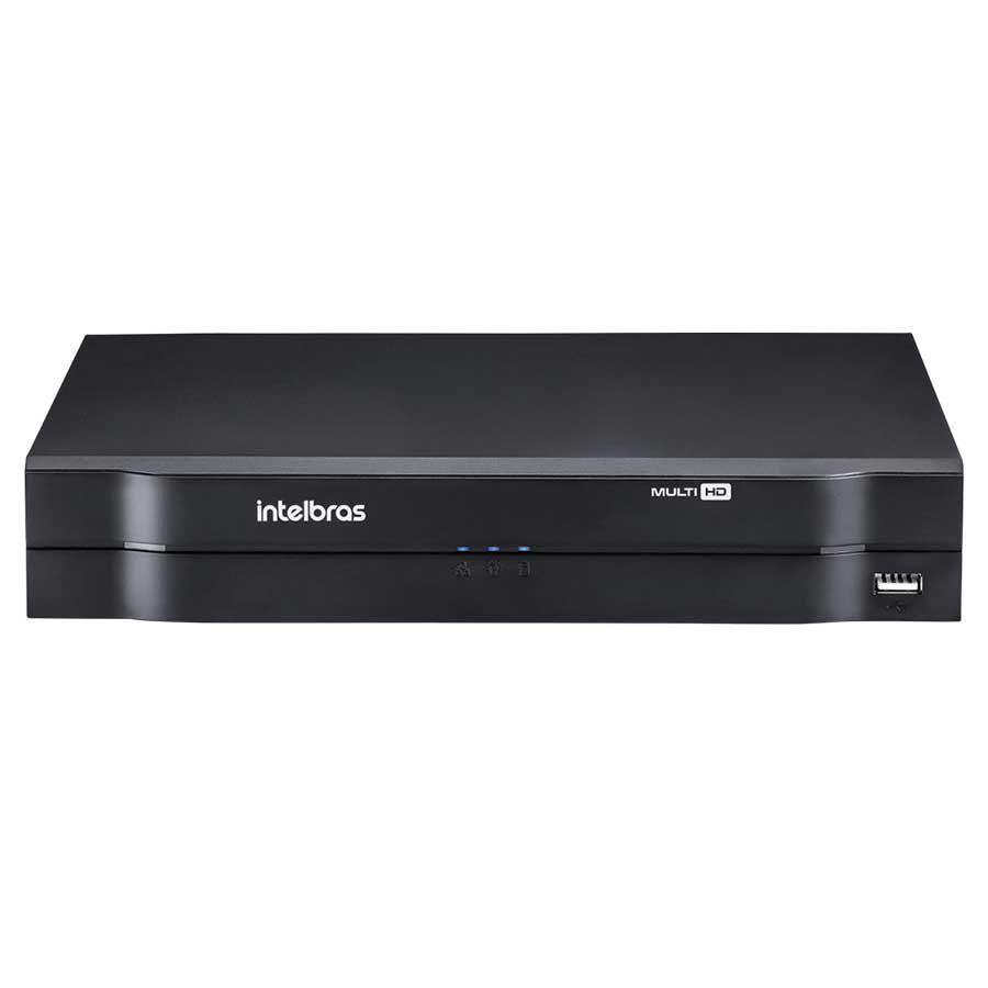 Kit Intelbras 2 Câmeras HD 720p VHL 1120 B + DVR 1104 Intelbras  + Acessórios  - Tudo Forte