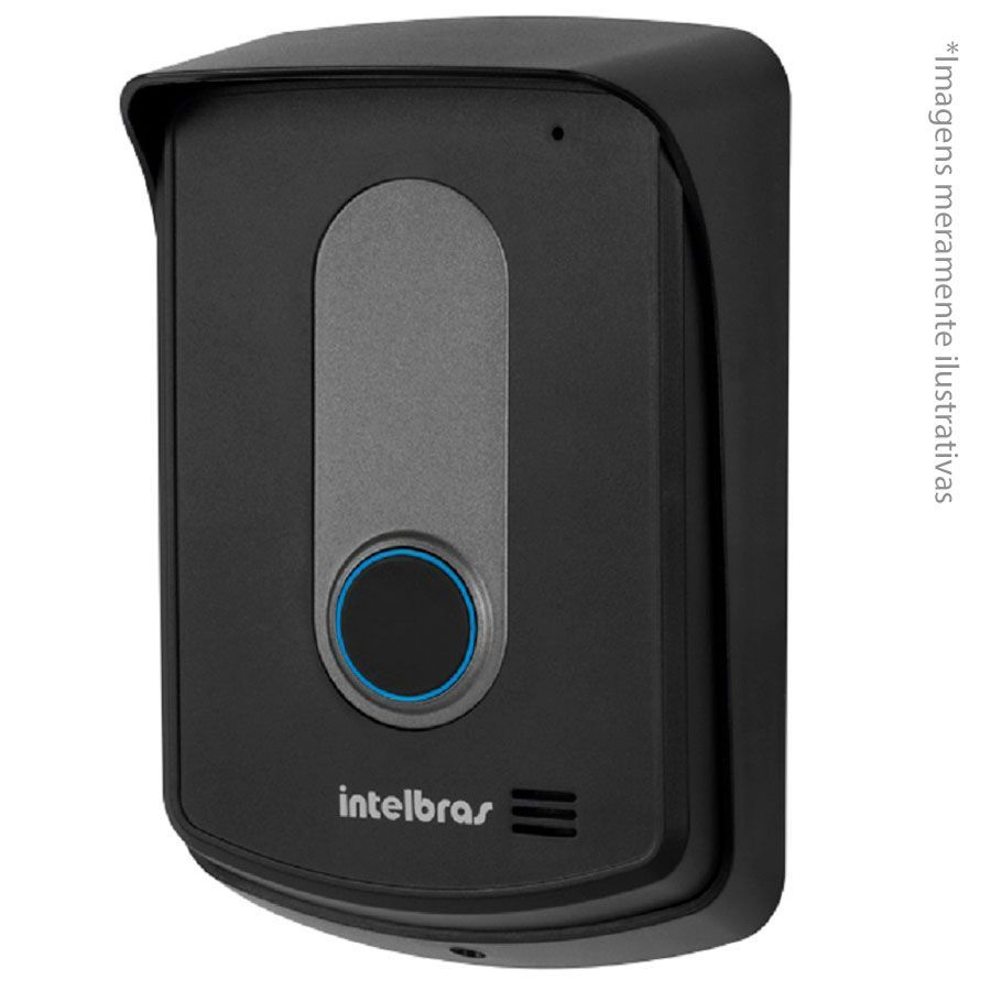 Kit Interfone Porteiro Residencial Intelbras Sem Fio TIS 5010 com 03 Ramais Internos para Atendimento