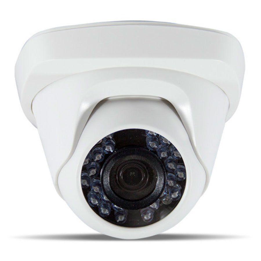 Kit JFL 2 Câmeras Dome HD 720p CHD-1115P + DVR DHD-2104N 1080N + Acessórios  - Tudo Forte