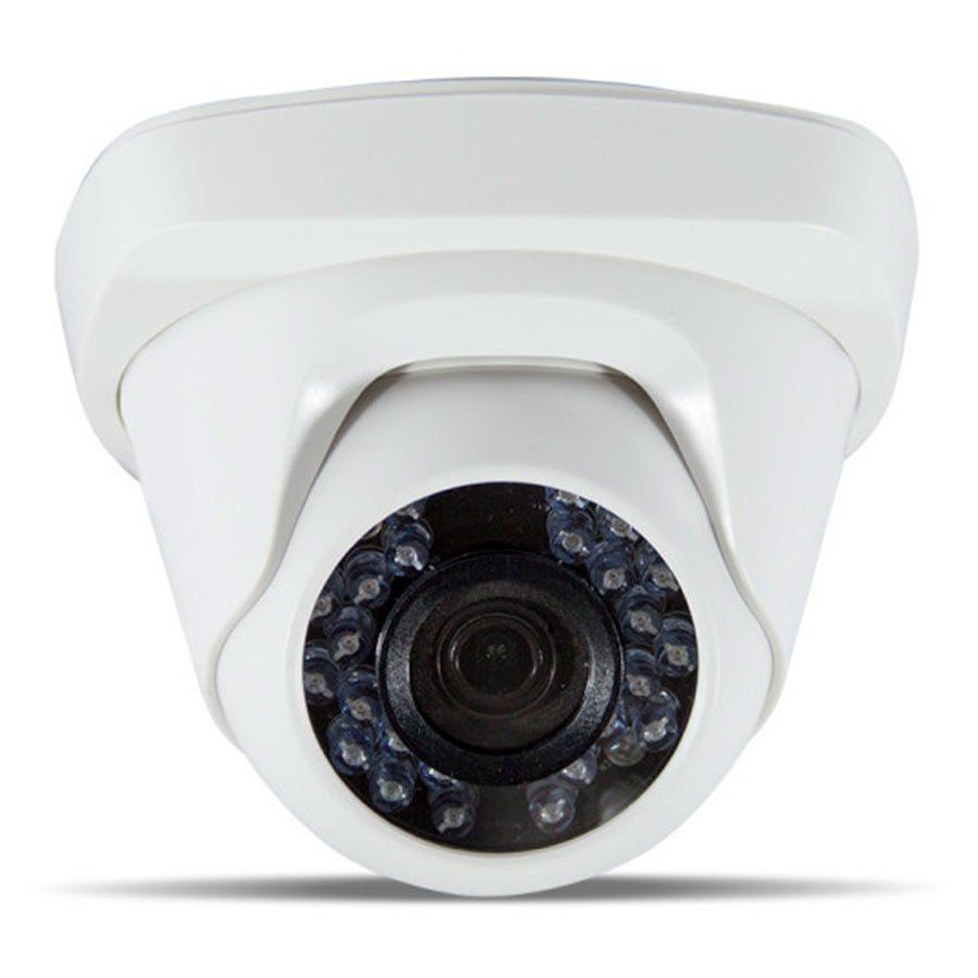 Kit JFL 4 Câmeras Dome HD 720p CHD-1115P + DVR DHD-2104N 1080N + Acessórios  - Tudo Forte