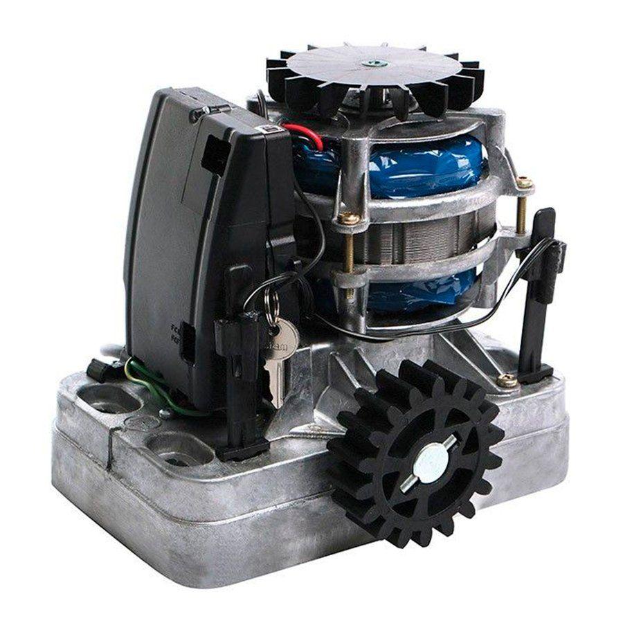 Kit Motor Portão Eletrônico 1/3 SUPER FAST RCG 220V, com 3 Cremalheiras