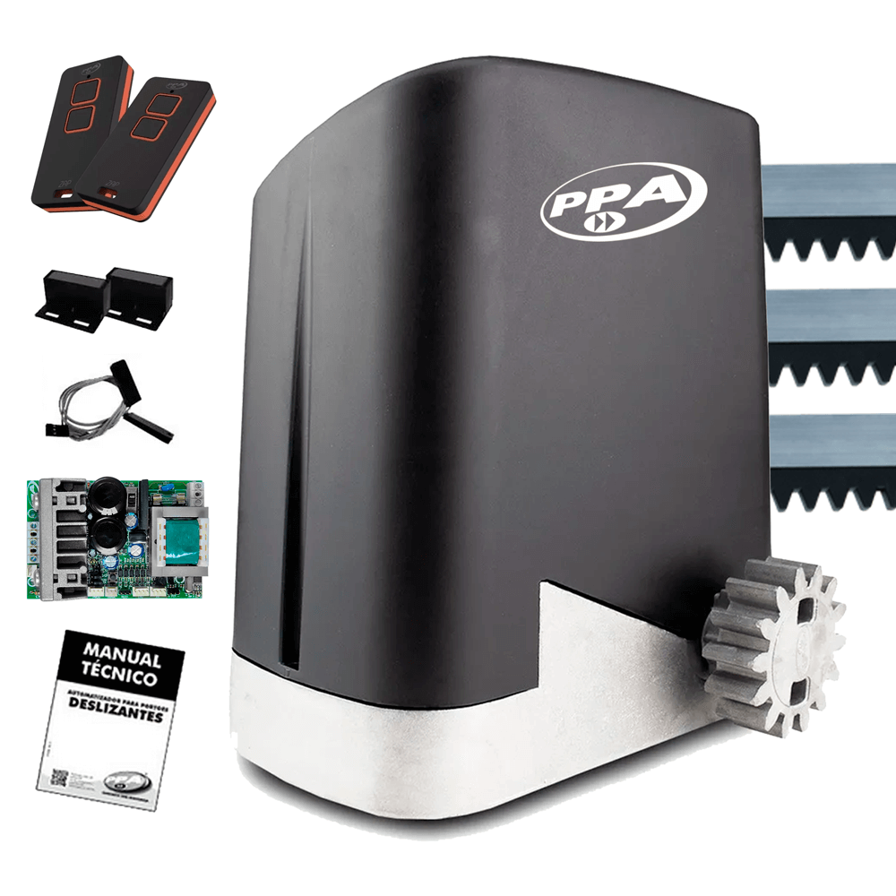 motor-de-portao/motor-de-portao-deslizante/kit-motor-completo/kit-motor-portao-ppa-dz-home-350kg-jet-flex-14-deslizante-automatico-de-correr-eletronico-com-abertura-rapida