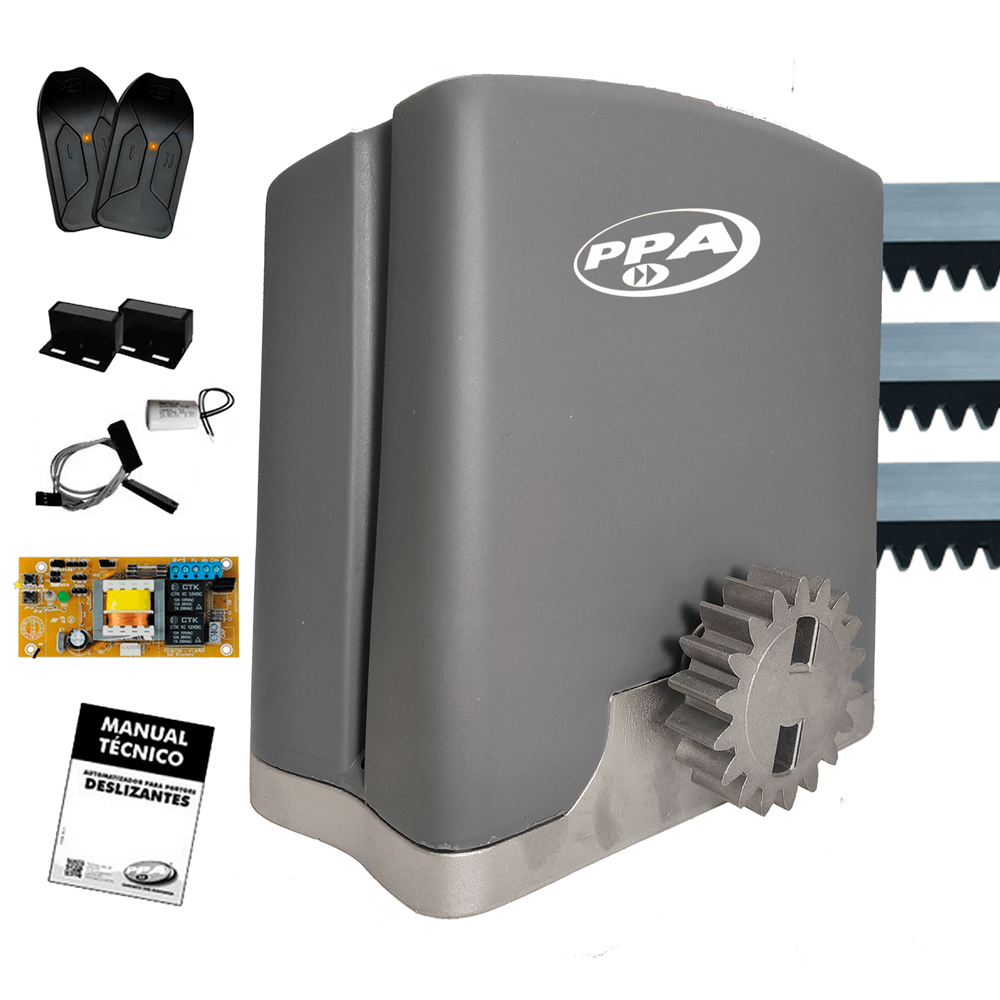 motor-de-portao/motor-de-portao-deslizante/kit-motor-completo/kit-motor-portao-ppa-dz-rio-400kg-14-deslizante-automatico-de-correr-eletronico-com-abertura-rapida