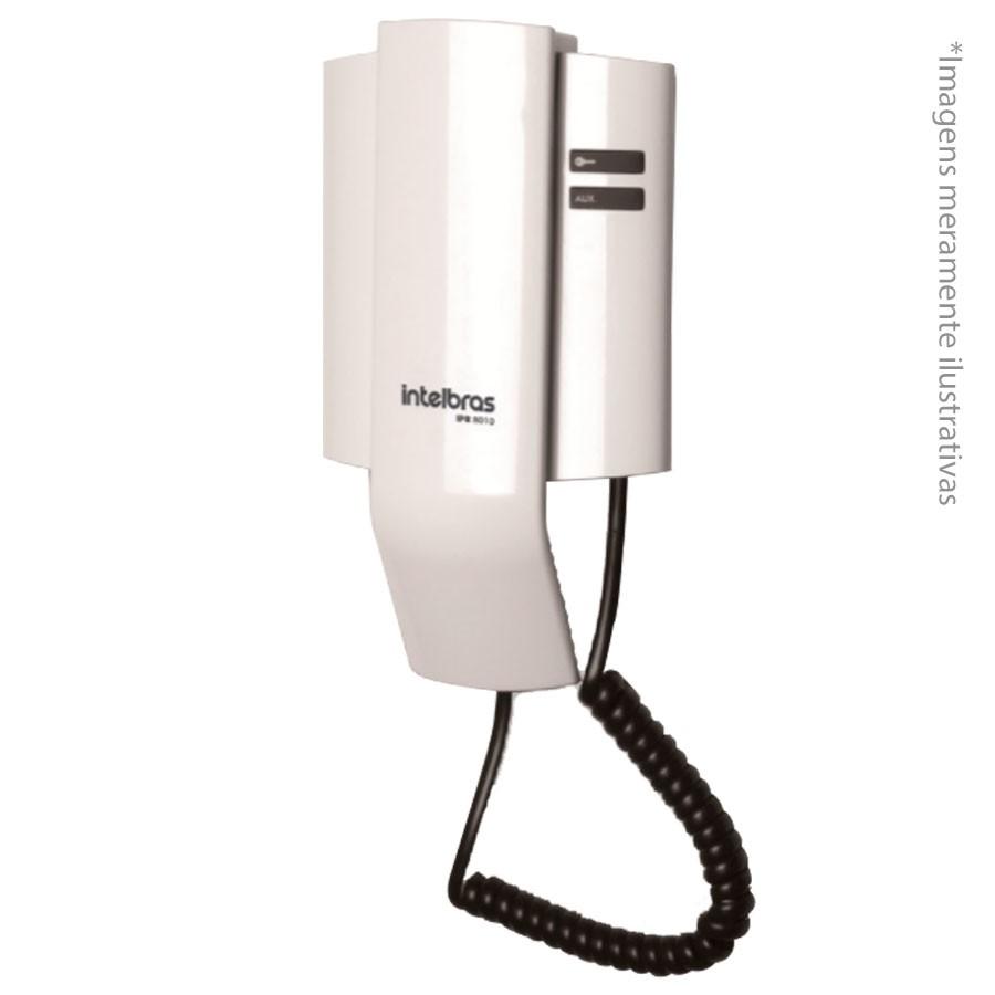 Kit Porteiro Intelbras IPR 8010 com 02 Monofone Interno para Atendimento