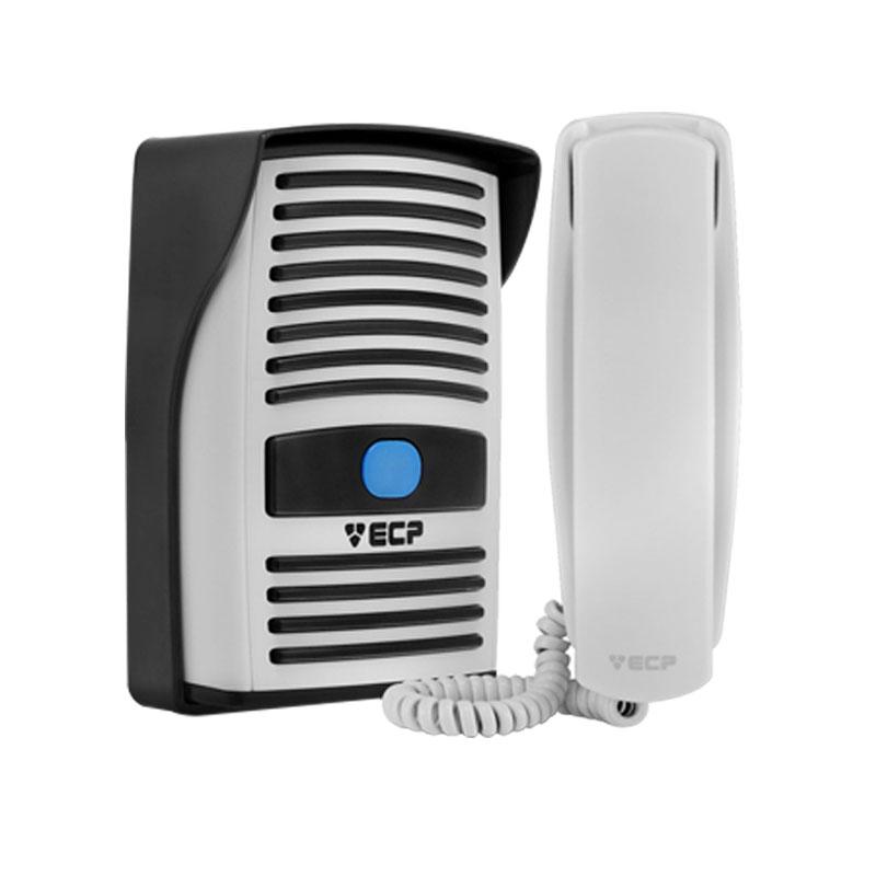Kit Porteiro Residencial Eletrônico ECP Intervox + Fechadura Elétrica AGL AL 100 abertura interna 12v ou 110v