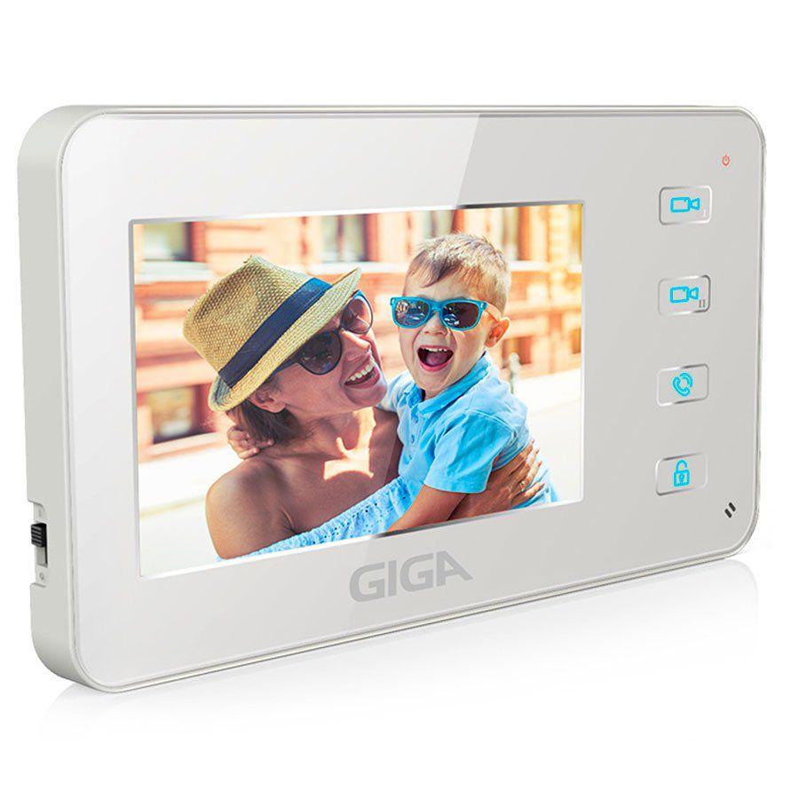 Kit Video Porteiro GSVDP4000 Giga Security Tela 4.3