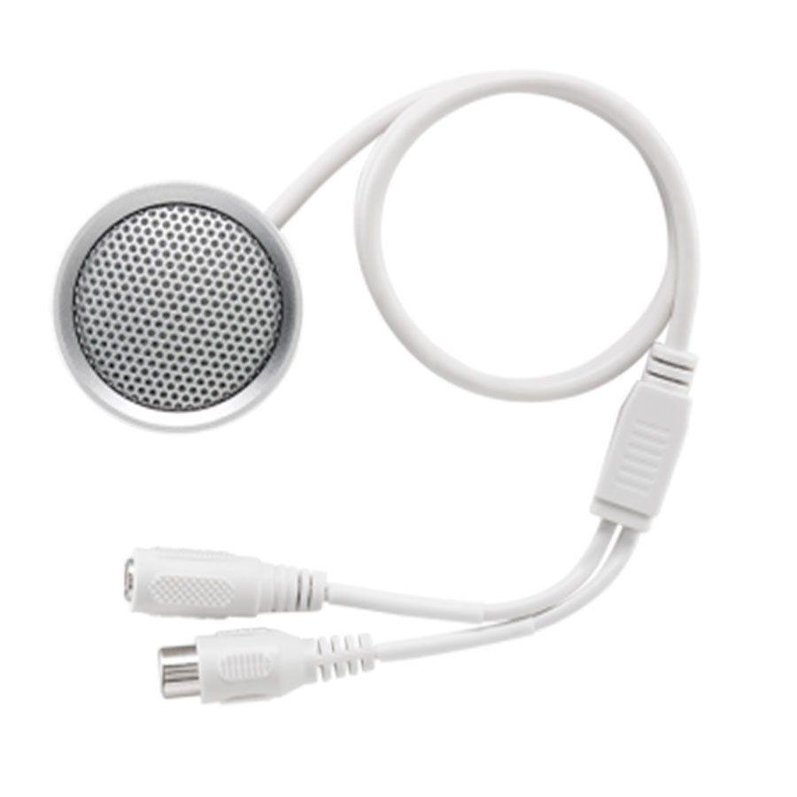 Microfone Intelbras CFTV MIC 3070, para Câmeras de Segurança, 70 M²  - Tudo Forte
