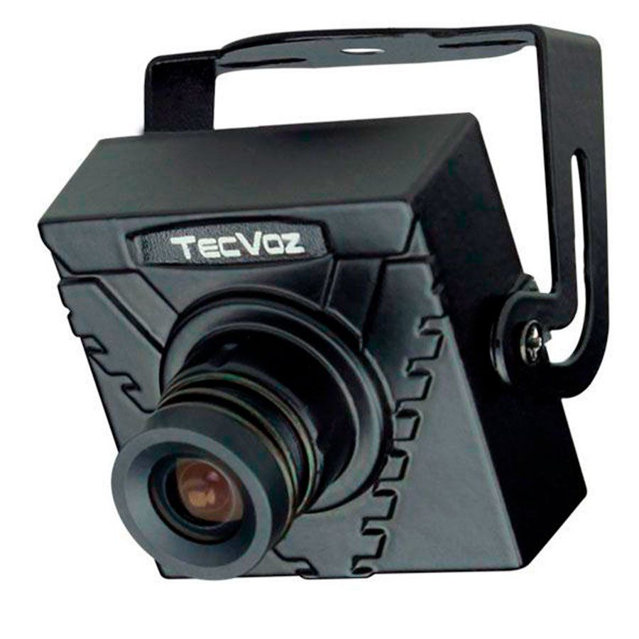 Mini Câmera de Segurança Tecvoz MCS-420HS  Day and Night Analógica