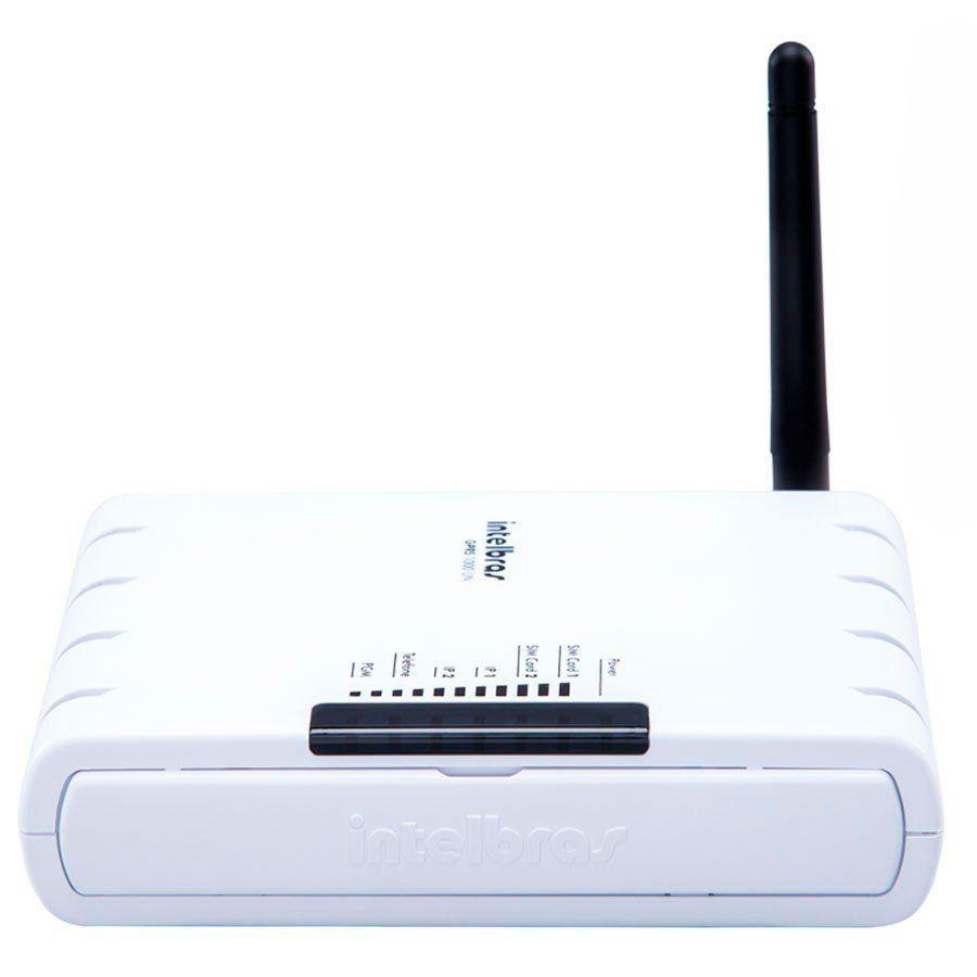 Módulo de Comunicação GPRS Universal Intelbras GPRS 1000 UN, Duplo SIM, 2 Saidas PGM