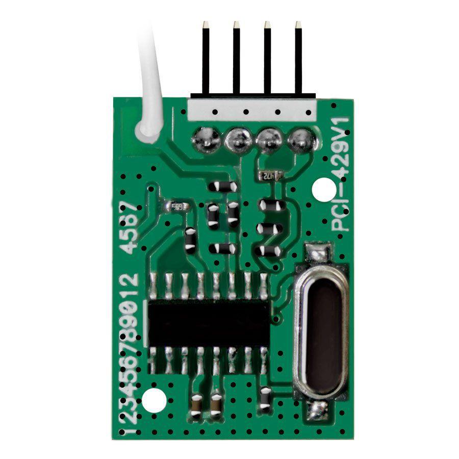 Módulo Receptor JFL MRF - 01 Para Controle e Sensores Sem Fio  - Tudo Forte