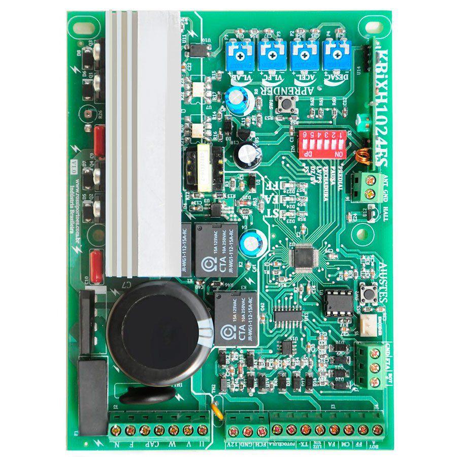 Motor Portão Eletrônico de Correr Rossi NANO BI-TURBO 1/4 abre 3m de portão em 5seg  - Tudo Forte