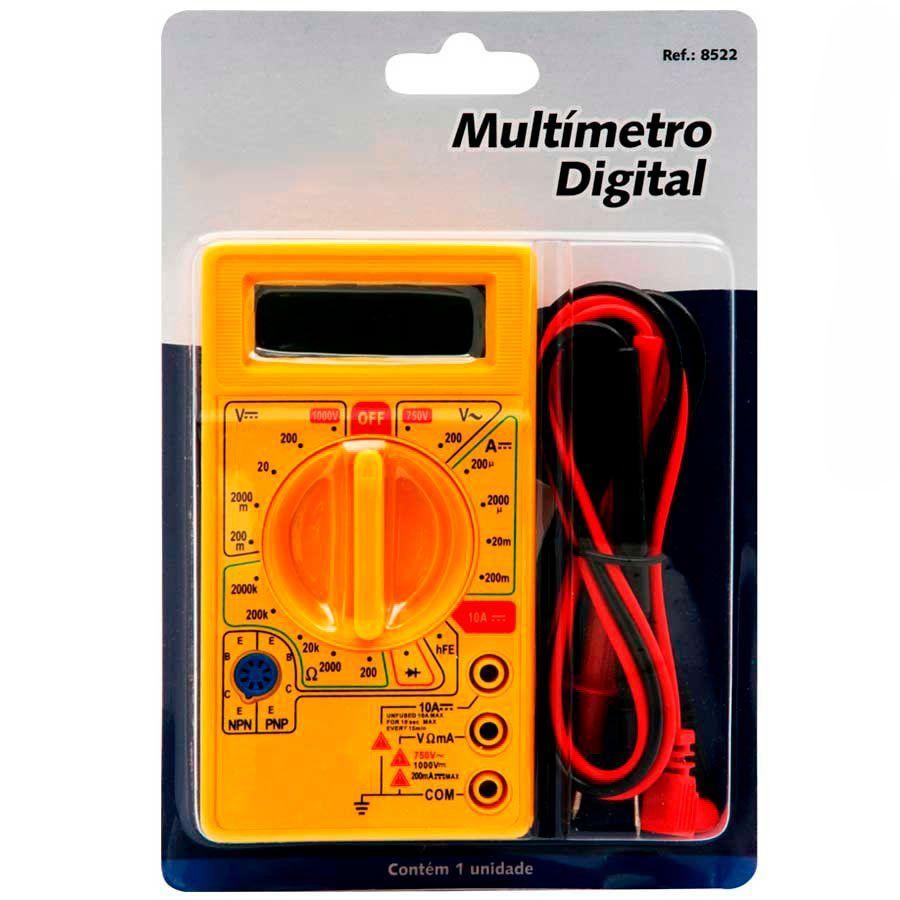 Multimetro Digital DT 830B