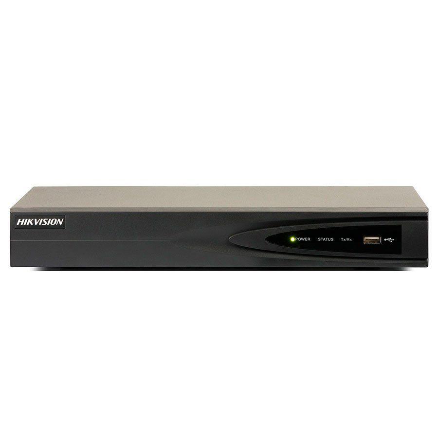 NVR Hikvision 16 Canais 8 entradas POE para Camera IP