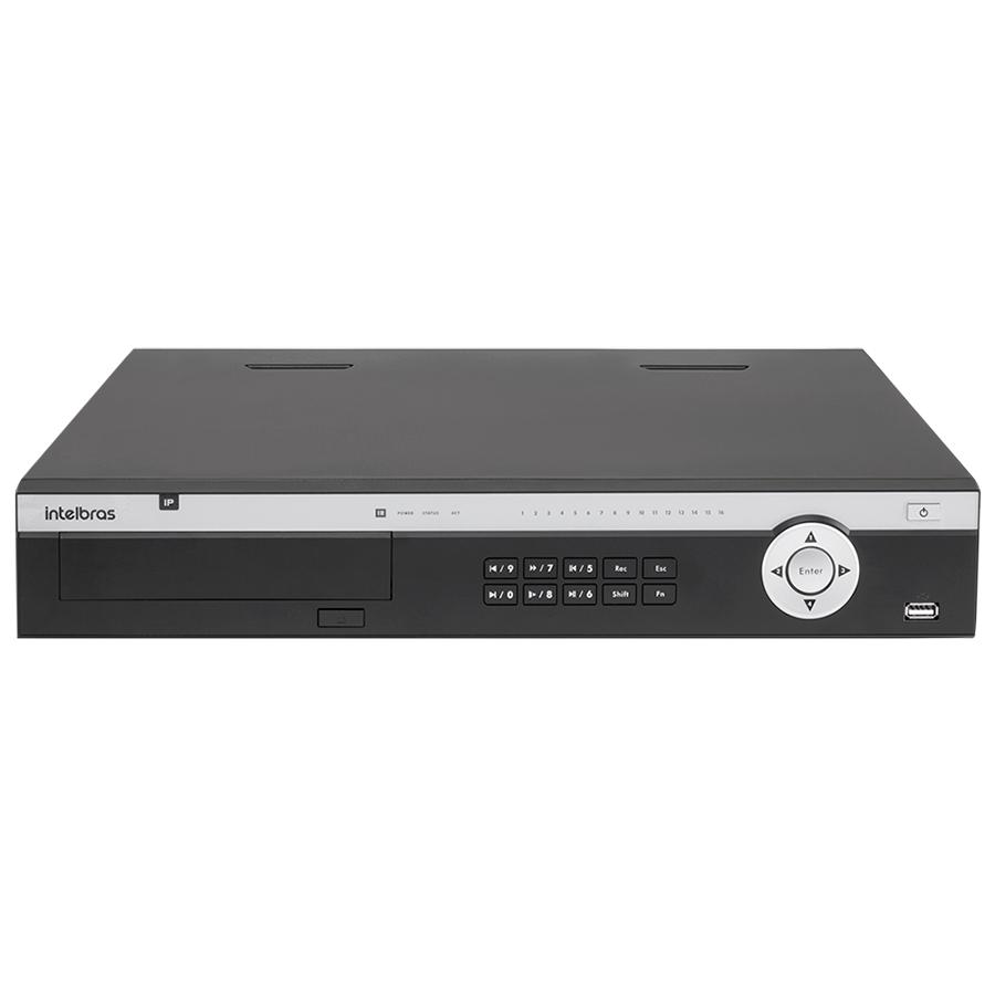 NVR Stand Alone 4K Intelbras NVD 5124 24 Canais, para Camera IP, OnVif
