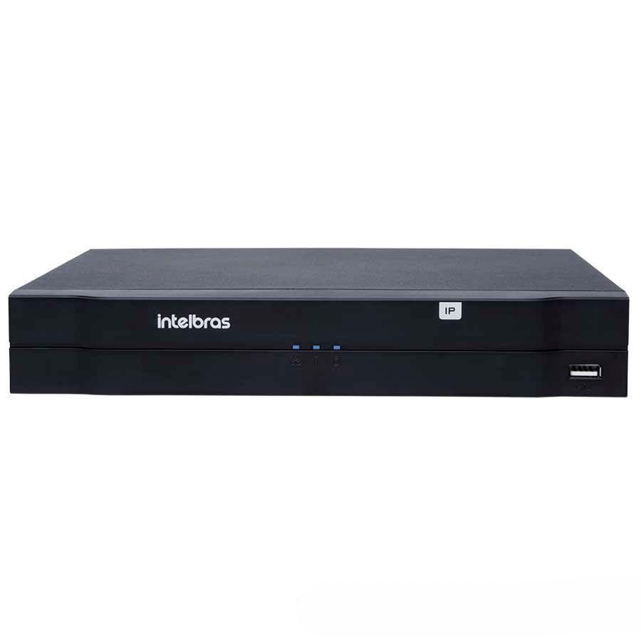 NVR, HVR Stand Alone Intelbras NVD 1108 8 Canais, para Camera IP, OnVif