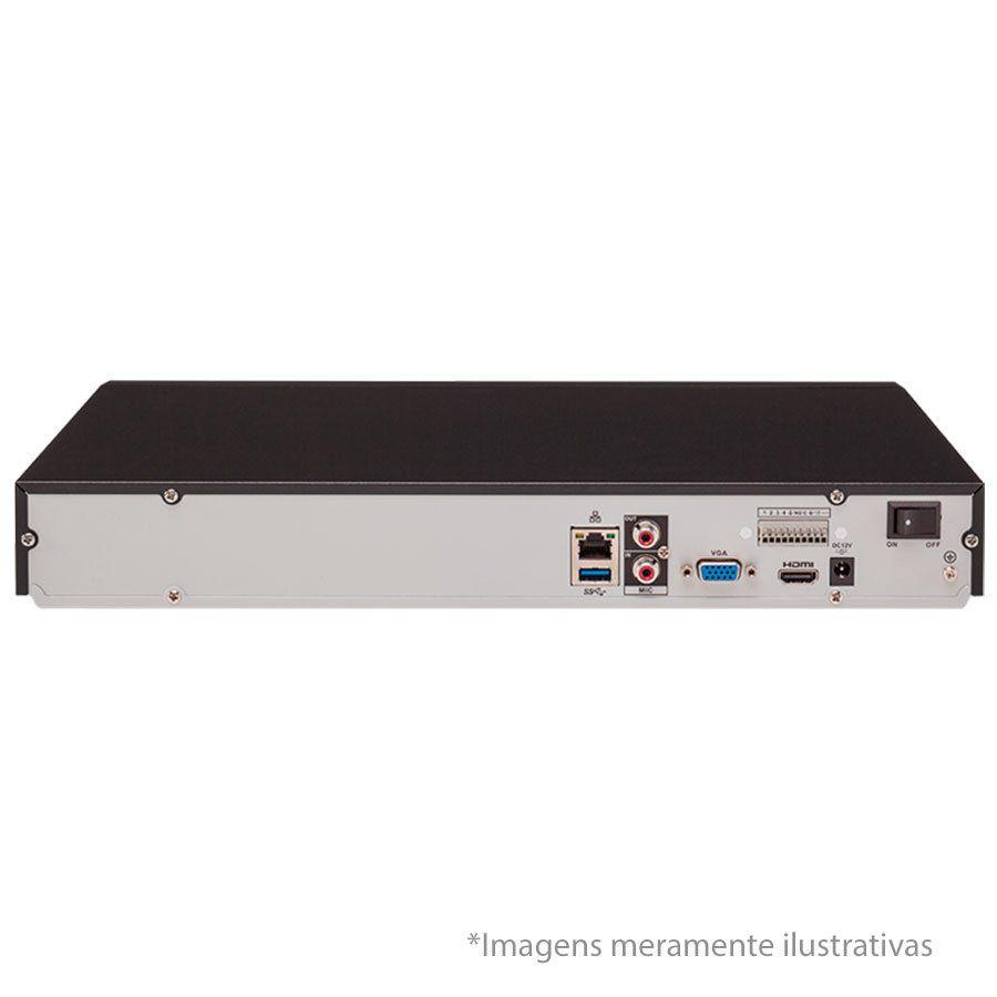 NVR, HVR Stand Alone Intelbras NVD 3116 16 Canais, para Camera IP, OnVif