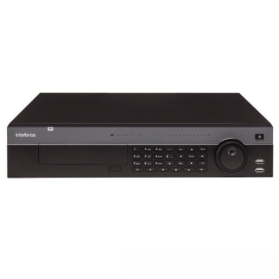 NVR, HVR Stand Alone Intelbras NVD 7132 32 Canais, para Camera IP, OnVif