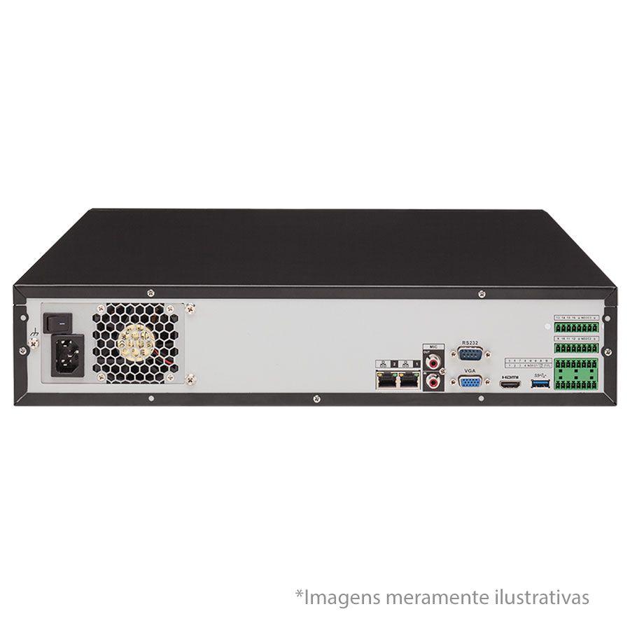 NVR, HVR Stand Alone Intelbras NVD 7132 32 Canais, para Camera IP, OnVif  - Tudo Forte