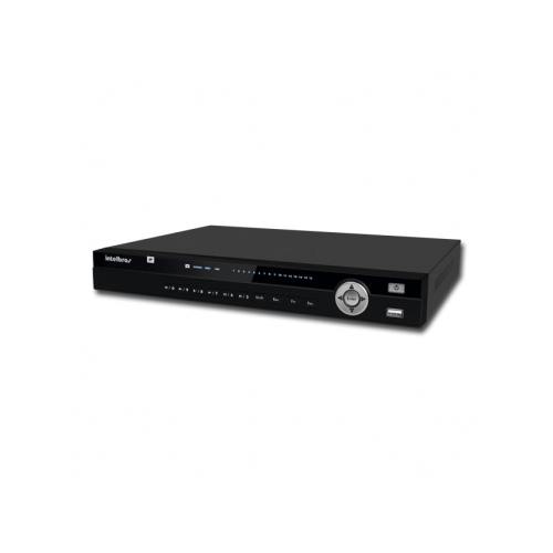 NVR, HVR Stand Alone Intelbras NVD 3016 16 Canais, para Camera IP, OnVif + HD 1TB WD Purple de CFTV