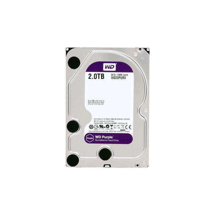 NVR, HVR Stand Alone Intelbras NVD 3016 P, com 4 portas PoE, 16 Canais, para Camera IP, OnVif + HD 2TB WD Purple de CFTV  - Tudo Forte