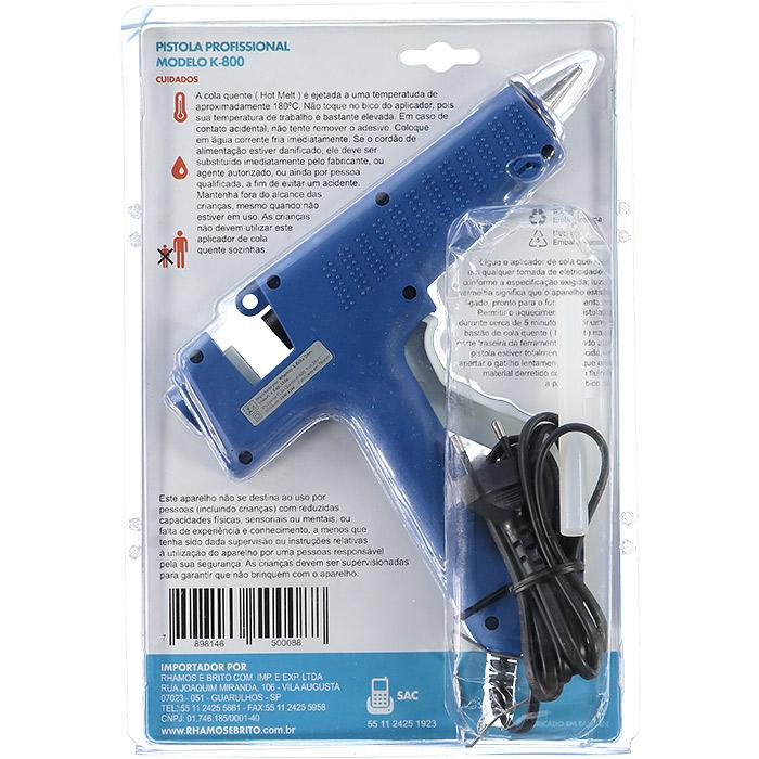 Pistola Aplicadora De Cola Quente 80 W K800