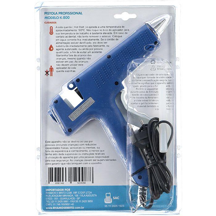 Pistola Aplicadora De Cola Quente 80 W K800  - Tudo Forte