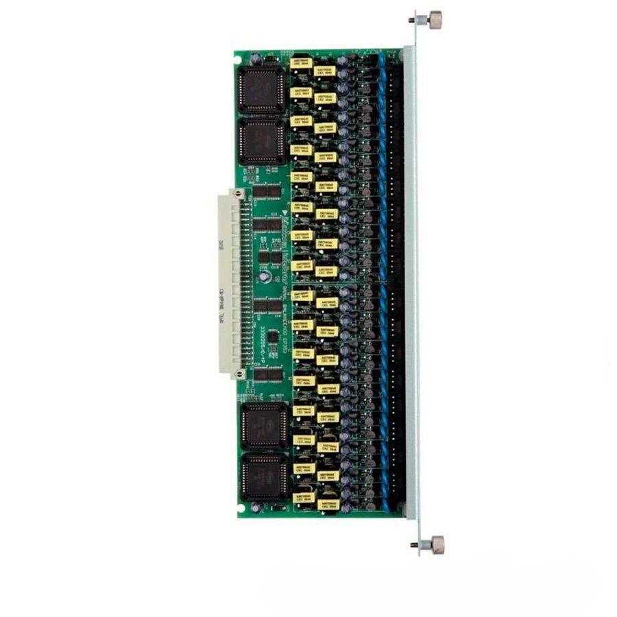 Placa Intelbras de 32 ramais Balanceados para CP 192 e CP 352